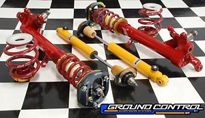 Complete Coilover Suspension Kit - BMW E30<br>Double Adjustable