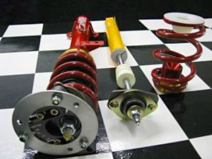 Complete Coilover Kit,  E36, Serious School or Medium Racing