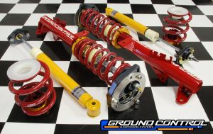 Complete Coilover Kit,  E36 Race Suspension (Double Adjustable Front)