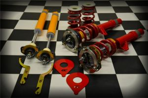 Complete Coilover Kit, E46 Race/Track - Completely Assembled