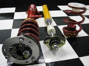 Complete Coilover Kit E85/Z4 Roadster Street/School Kit