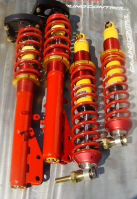 924/944/951/968 Double-Adj. Complete Strut Assemblies<br>w/Rear C/O Shocks