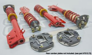 Complete Coilover Conversion kit, '02-'07 Subaru WRX & STi (without rear camber plates)