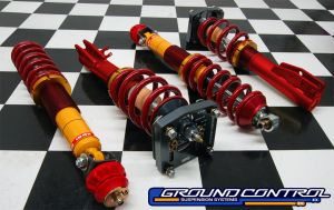 VW MK I - Complete Front Struts w/Rear C/O Shocks