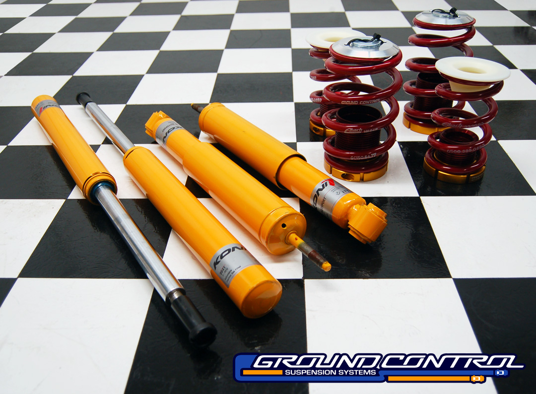Complete Coilover Kit, BMW E30 - Street Kit - Standard Length Struts