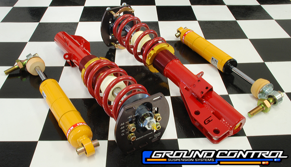 944/924/968 - Complete C/O Strut Assemblies<br>w/Upgradable Rear Shocks